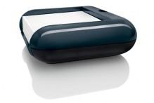 Haftnotizbox Eyestyle dunkelgrau/ schwarz, Maße: 110x40x110 mm
