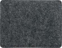Mauspad, Filz, casualstyle, 250x7x200 mm, anthrazit/grau