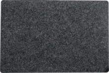 Schreibunterlage, Filz, casualstyle, 500x7x330 mm, anthrazit/grau