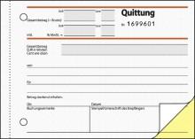 Quittung inkl. MwSt. A6 quer, SD, 2x50 Blatt, 1.+2. Blatt bedruckt