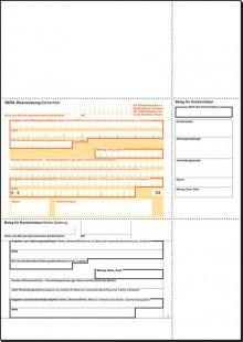 PC-SEPA-Überweisung 90g Ink/Laser beleglesefähig