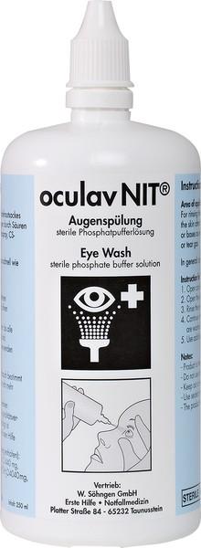Oculav NIT® Augenspülung 250 ml Sterillösung, f. sofortiges Spülen