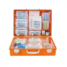 Erste-Hilfe-Koffer MT-CD orange mit Füllung Standard DIN 13169
