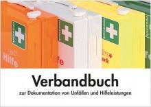 Verbandbuch A5 Unfall-Dokumentation mit vorgedruckten Spalten zur