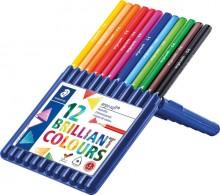Staedtler Farbstiftetui ergo soft 12er Kunststoff-Etui, aufstellbar