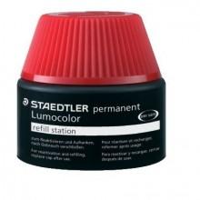 Nachfülltinte Lumocolor permanent, rot, Inhalt: 15 ml