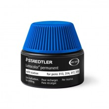 Nachfülltinte Lumocolor permanent, blau, Inhalt: 15 ml