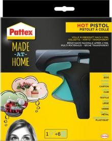 Pattex Heißklebepistole, ideal zum fixieren, montieren, dokorieren und