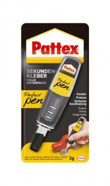 Sekundenkleber Pattex Perfect Pen Blisterkarte 3 g