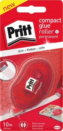 Pritt Einweg-Kleberoller permanent, 10 m x 8,4 mm, mit Schutzkappe