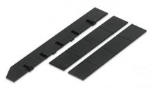 styrodoc Unterteilungsset 1, schwarz 1 Längs-, 2 Querstege