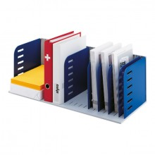 Styroac-Sortierstation grau/blau Grundeinheit mit 8 Trennwänden