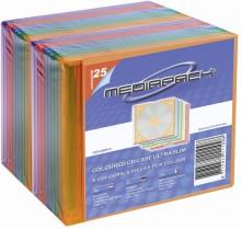 CD-Leerhülle Slim Line farbig sortiert