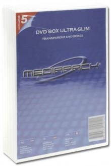 DVD-Leerhülle transparent