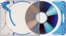 CD-Box Quickflip complete Ejector Case Standard mit Clip