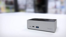 Dockingstation USB-C Thunderbolt 3 DV4K, für Windows 10, Mac O/S