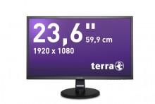 "LED Monitor 2447W schwarz 23,6"" Auflösung: 1920 x 1080 Pixel (FullHD)"