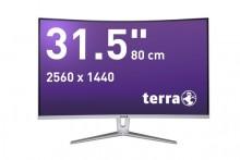 """LED Monitor 3280W silber/weiß 31,5"""" Auflösung: 2560 x 1440 (WQHD)"""