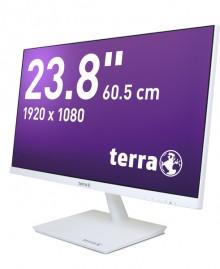 """LED Monitor2464W weiß 23,8"""" Auflösung: 1920 x 1080 Pixel (FullHD)"""