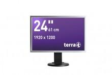 "LED Monitor 2458W PV silb/schwarz 24"" Auflösung: 1920 x 1200 Pixel"