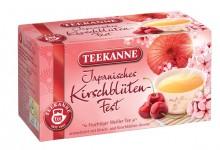Tee Japanisches Kirschblüten-Fest, Fruchtiger Weißer Tee mit Kirsch-