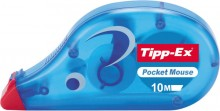 Tipp-Ex Pocket Mouse Korrekturroller in blau