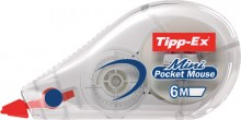 Korrekturroller Mini Pocket Mouse Bandlänge 6m, Breite 5mm