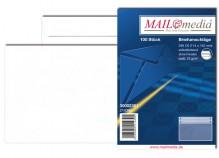 MAILmedia Briefumschlag C6, ohne Fenster, Selbstklebung, 75 g/qm, weiß, 100 stk.