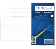 MAILmedia Briefumschlag kompakt, ohne Fenster, Selbstklebung, 75 g/qm, weiß