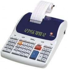 Tischrechner, Druckend, 57mm Rolle Euro Umrechnung, Prozenttaste,