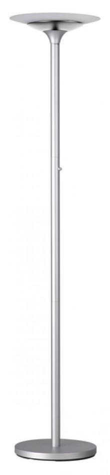 Unilux LED-Stehleuchte Variaglass metallgrau