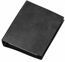 Taschenringbuch A6 schw. 4-Ring 13 mm