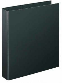 Ringbuch A4 schwarz 4-R-Combi 40 mm