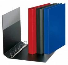 Ringbuch A4 PVC d-blau 4-R-Combi 25mm