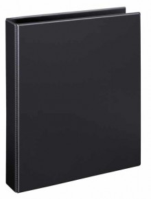 Ringbuch A4 PVC schwarz 4-R-Combi 25mm