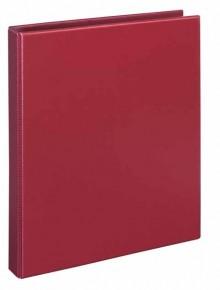 Ringbuch A4 PVC w-rot 4-Ring 16mm