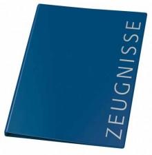 Ringbuch A4 Zeugnisse d-blau 4-Ring 16mm