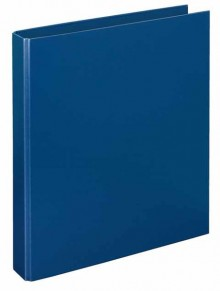 Ringbuch A4 PP d-blau 4-R-Combi 30 mm