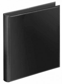 Prospekt-Ringbuch A4 schwarz 4-R-Kipp 38mm