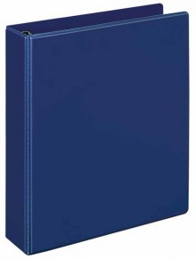 Ringbuch A5 PVC d-blau 4-R-Combi 25 mm