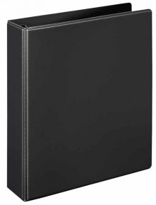 Ringbuch A5 PVC schwarz 4-R-Combi 25 mm