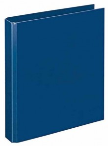Ringbuch A5 PP d-blau 4-R-Combi 30 mm