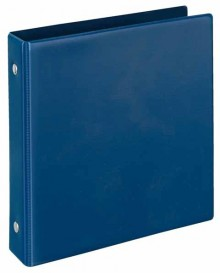 Veloflex Ringordner A6 PVC d-blau 2-Ring 25 mm