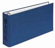 Veloflex Bankordner A6 VELOCOLOR blau 2-R-Combi 30mm