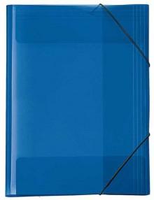 Sammelmappe A3 Crystal blau