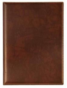 Veloflex Exquisit Urkundenmappe Ledernarbung in braun