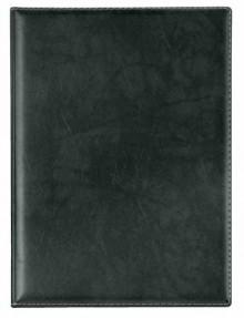 Veloflex Urkundenmappe in schwarz mit Ledernarbung