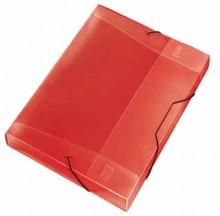 Cool-Box A4 Crystal rot 30 mm Füllhöhe