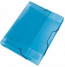 Cool-Box A4 Crystal blau 30 mm Füllhöhe