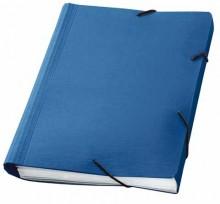 Fächermappe A4 d-blau